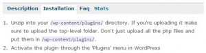 WordPress Plugin Installation Steps