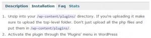 WordPress Plugin Installation Steps