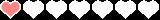 hearts horizontal bar animated